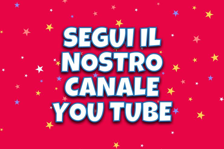 Segui il nostro canale you tube